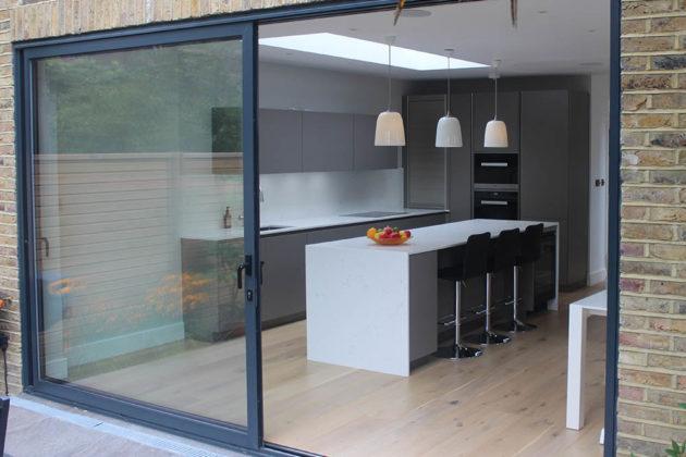 Warendorf Basalt Smooth Real Kitchen