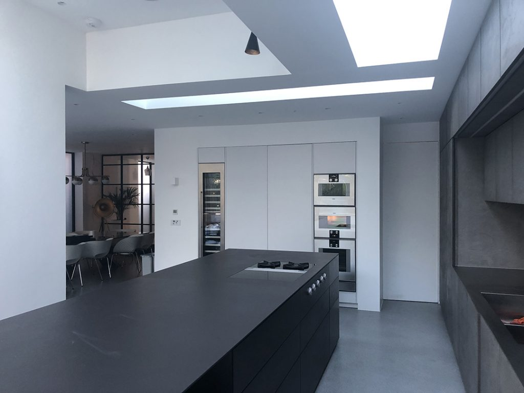 Warendorf Concrete Titanium Grey Geman kitchen